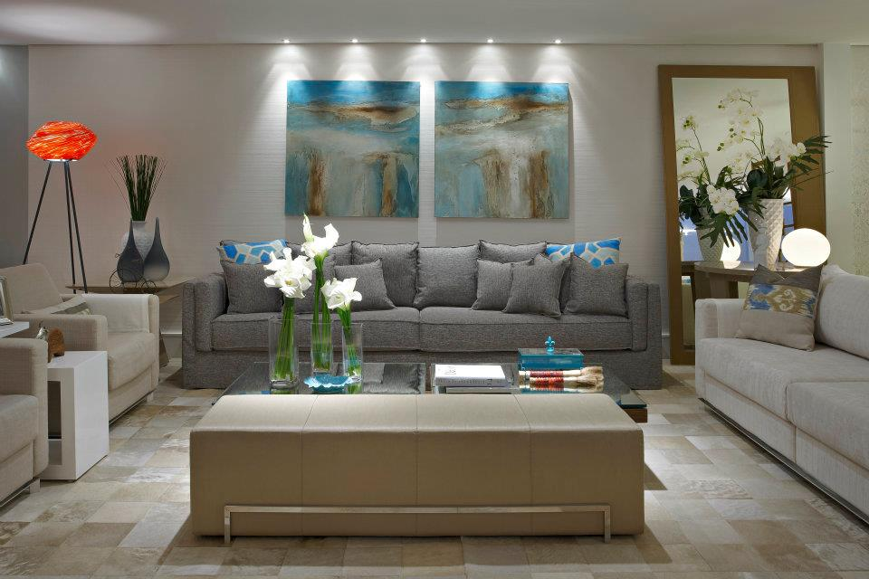 Sala De Tv Marrom E Azul ~ Olhem esse sofá Capitonê !!! De cair o queixo !!! Os muranos também