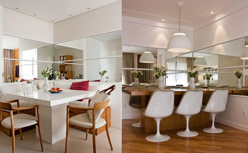 Decoracao Sala Pequena Com Espelho ~ Apartamentos Pequenos – Papo de Casad