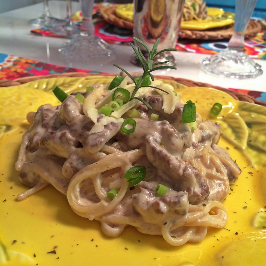 receita gorgonzola