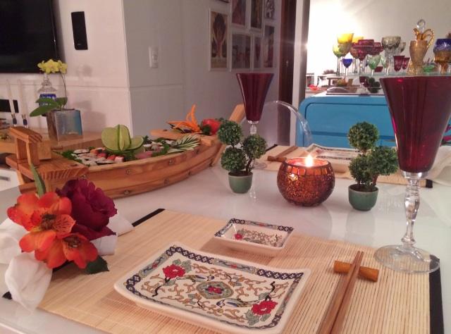 mesa posta japonesa